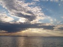 Рассвет. Вид на Славянку. Остров Рикорда.