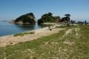 Острова в бухте Орлинка. Морской Заповедник.  Хасанский район.