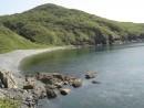 о. Рикорда, галечный пляж