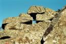 Камни на пути к вершине горы Пидан. Шкотовский район.