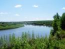 Река Уссури, конец июня 2011