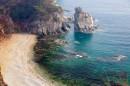 Прибрежные скалы мыса Сосновый