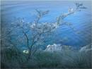 Синее море.  Возле б.Гротовая, полуостров гамова.