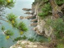 Отвесные скалы полуострова Гамова