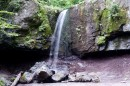 Каскад Кравцовских водопадом. Хасанский район.