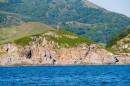 Острова Таранцева на фоне полуострова Щульца