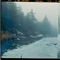 Берег замерзшего озера. г. Ольховая. Партизанский район.  Киев 60 FUJI 160 VC