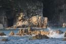 Камни. Вид с острова Томящегося сердца. Полуостров Гамова. Хасанский район.