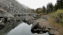 Малое озеро на г.Ольховой.