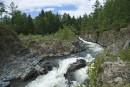 Кемская труба Кема - прекрасная чистая река. Отличное место для сплава, рыбалки и просто отдыха!