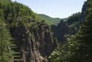 То самое ущелье, где несет свои волы Амгу и прячет один из самых больших водопадов Приморья.