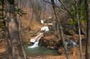 Верхний каскад водопадов