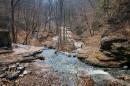 Вершина гланого сброса водопада