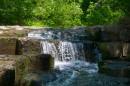 Вехний каскад водопада.