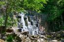 Водопад Неожиданный на ключе Горбатый.