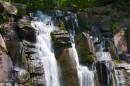 Водопад, верхний створ