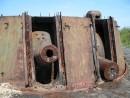 Отдельная башенная береговая батарея № 220 Хасанского сектора береговой обороны. Полуостров Гамова. Хасанский район. Не все пушки пережили свидание  с новым поколением.