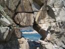 Мыс 4х скал. Легендарный камень. Бухта Средняя