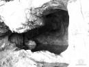 Пещерка в конце бухты Средней