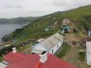 Вид с маяка на территорию. Маяк Гамова. Полуостров Гамова. Хасанский район.
