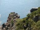 Скалы бухты Опасная. Маяк Гамова. Полуостров Гамова. Хасанский район.