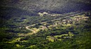 Вид на деревню около жд станции 82 км.