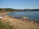 Официальный пляж села Андреевка. Вода чище, народу меньше. Установка палаток запрещена. Хасанский район.