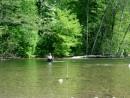 Вот так лесник преодолевает небольшие для него трудности лесной жизни. Ольгинский район.