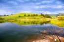 Озеро недалеко от Андреевки, рыбалка