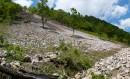 Камнепад после взрыва - варварство строителей ЛЭП