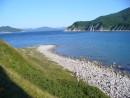 Вид на залив Ольги с острова Чихачева