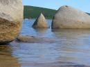 Очень правильной формы камень