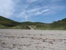Небо и песчаный пляж