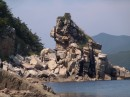 Вид на остров Петрова с воды. Лазовский заповедник. Лазовский район