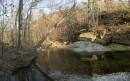 Река за санаторием ведущая к радоновому источнику.