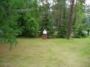 Среди леса и полей стоит памятник вождю