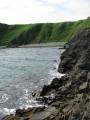 Вид с островка на берег.