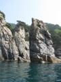 Скалы полуострова Гамова. Морская прогулка вокруг полуострова Гамова (до морского заповедника). Хасанский район.