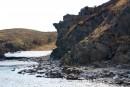 Место впадение реки Кузнецовка, впадает возле мыса Олимпиады