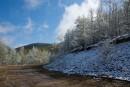 Снег на перевале
