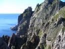 Крутые скалы