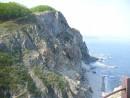 Скалы и море вид с маяка