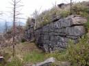 Каменная стена. Гора Пидан. Шкотовский район.