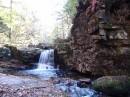 водопад по пути  на Пидан.