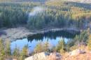 озеро на высоте 1600м, в котором водятся тритоны