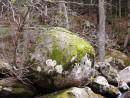 Камень у водопада. Смольный ключ. Шкотовский район.