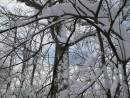 везде снег