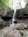 Первый водопад на ручье Кравцовском.
