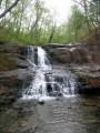 """Четвёртый Кравцовский водопад называется """"Мокрая лесенка"""" или """"Ступенчатый""""."""