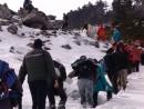 На пути к вершине. Гора Пидан в апреле. Шкотовский район.